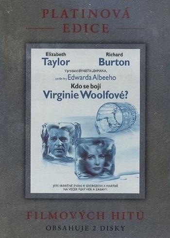 Kdo se bojí Virginie Woolfové - Platinová edice - 2xDVD /plast v šubru/