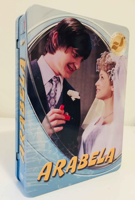 Arabela - kompletní seriál - DVD v dárkovém plechovém boxu