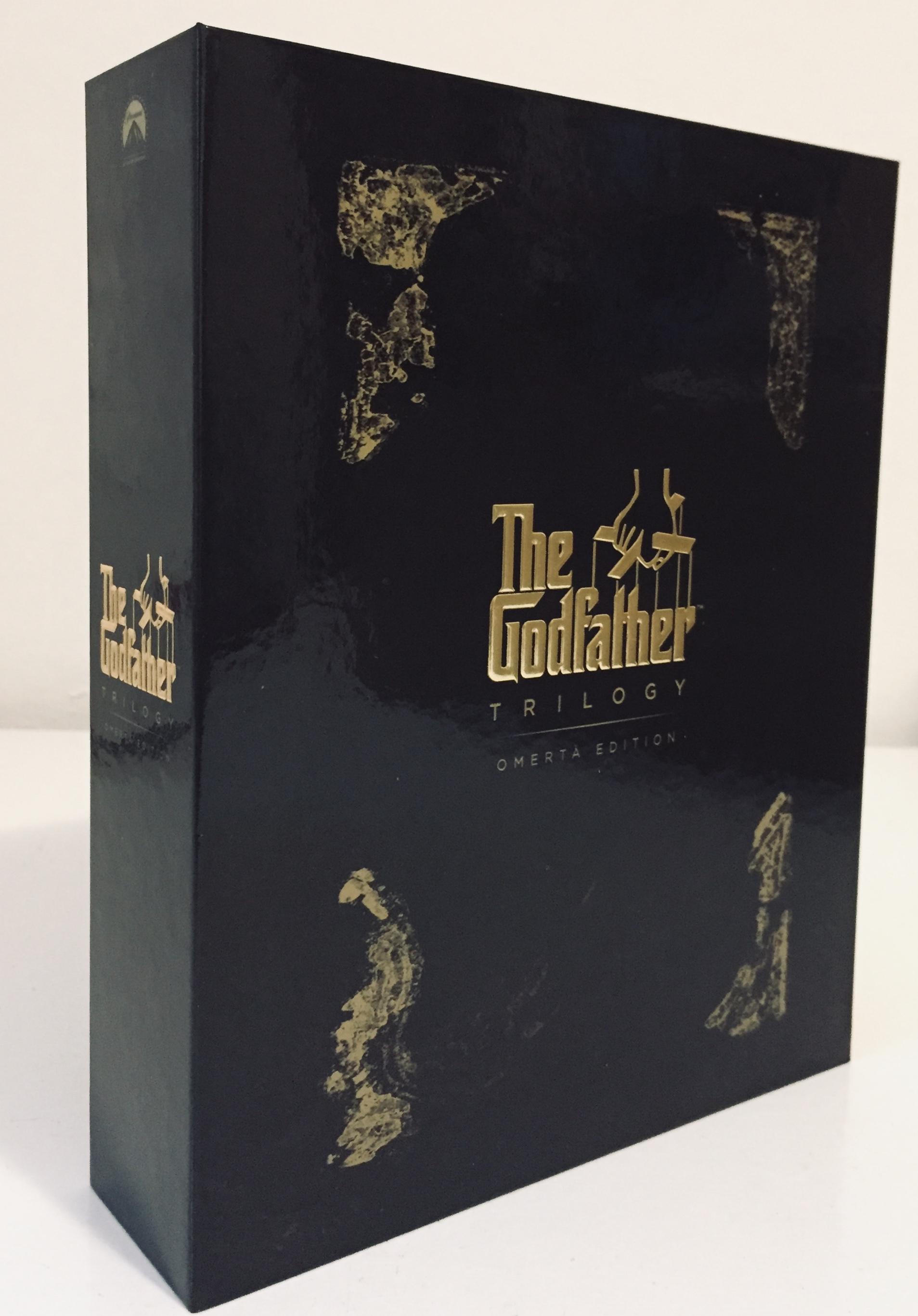 The Godfather / Kmotr - Trilogie - DVD v dárkovém kartonovém obalu
