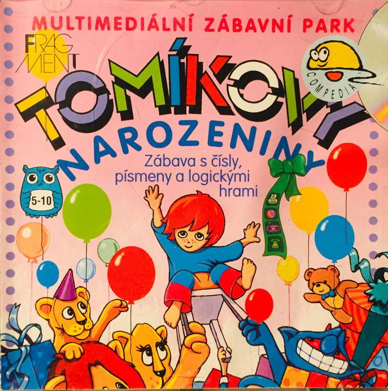 PC hra - Tomíkovy narozeniny /plast/