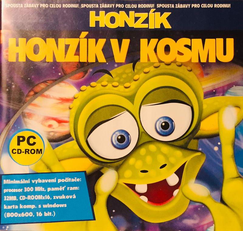 PC hra - Honzík v kosmu /plast/