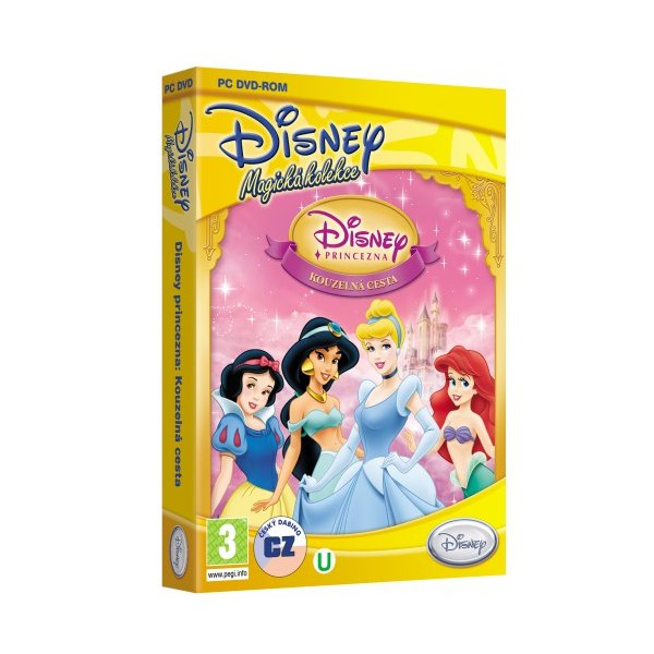 PC hra - Princezna - Kouzelná cesta - Disney Magická kolekce /plast v šubru/ /bazarové zboží/