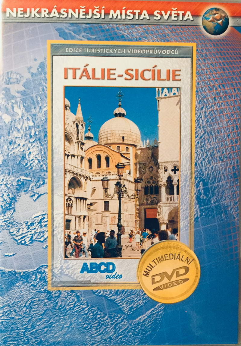 Nejkrásnější místa světa - Itálie-Sicílie - DVD /plast/