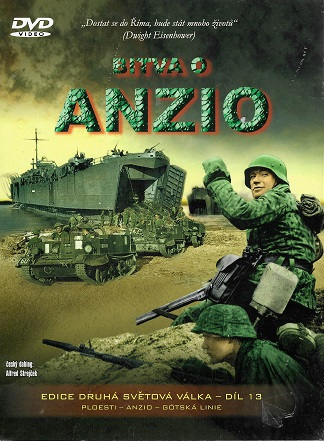 Bitva o Anzio ( Digipack ) DVD