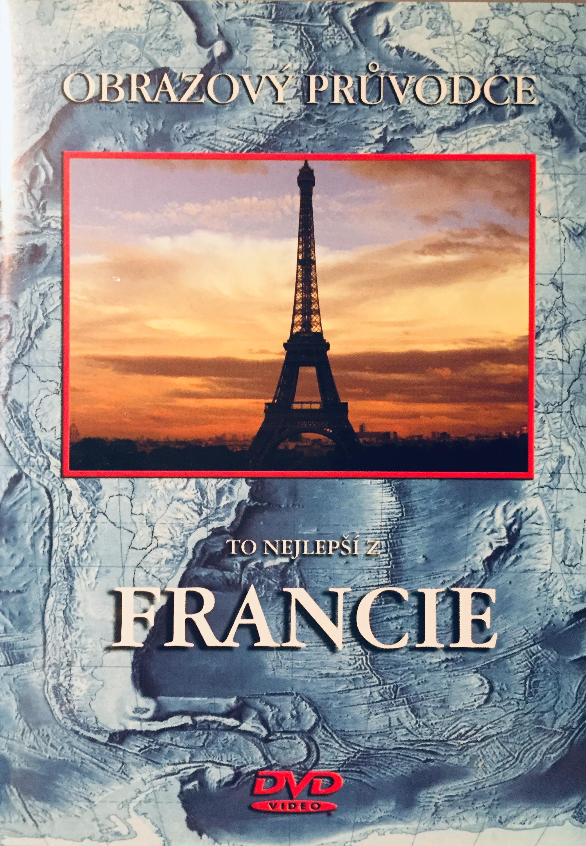 Obrazový průvodce - To nejlepší z Francie - DVD /plast/
