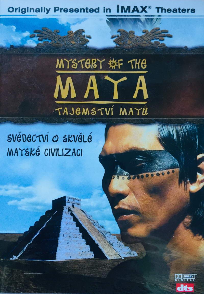Tajemství Mayů - DVD /plast/