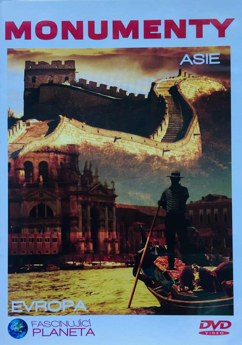 Monumenty Asie / Evropa - Divy světa II - DVD /plast/