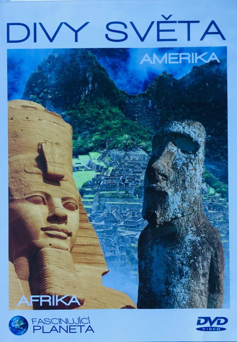 Divy světa - Amerika / Afrika - DVD /plast/