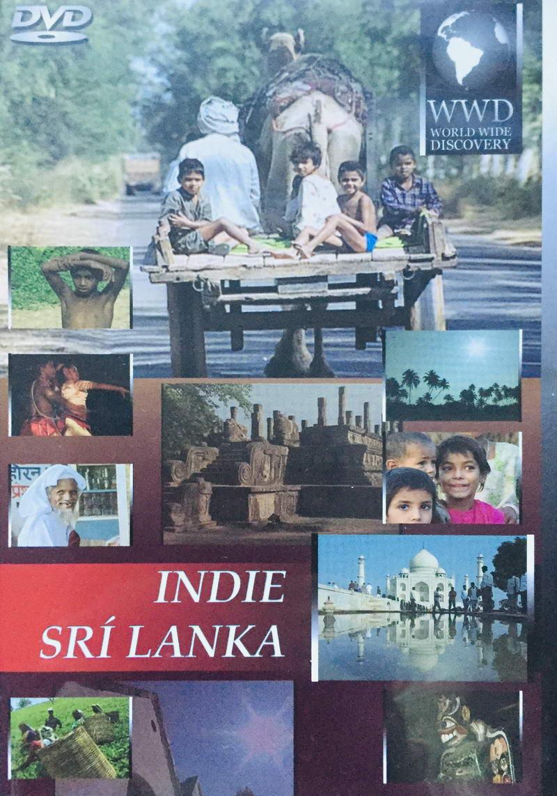 Indie / Srí Lanka - DVD /plast/