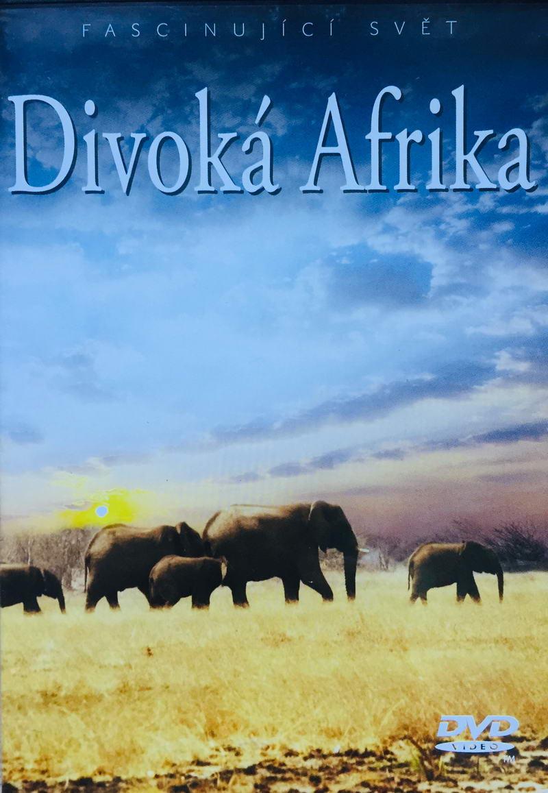Divoká Afrika - DVD /plast/