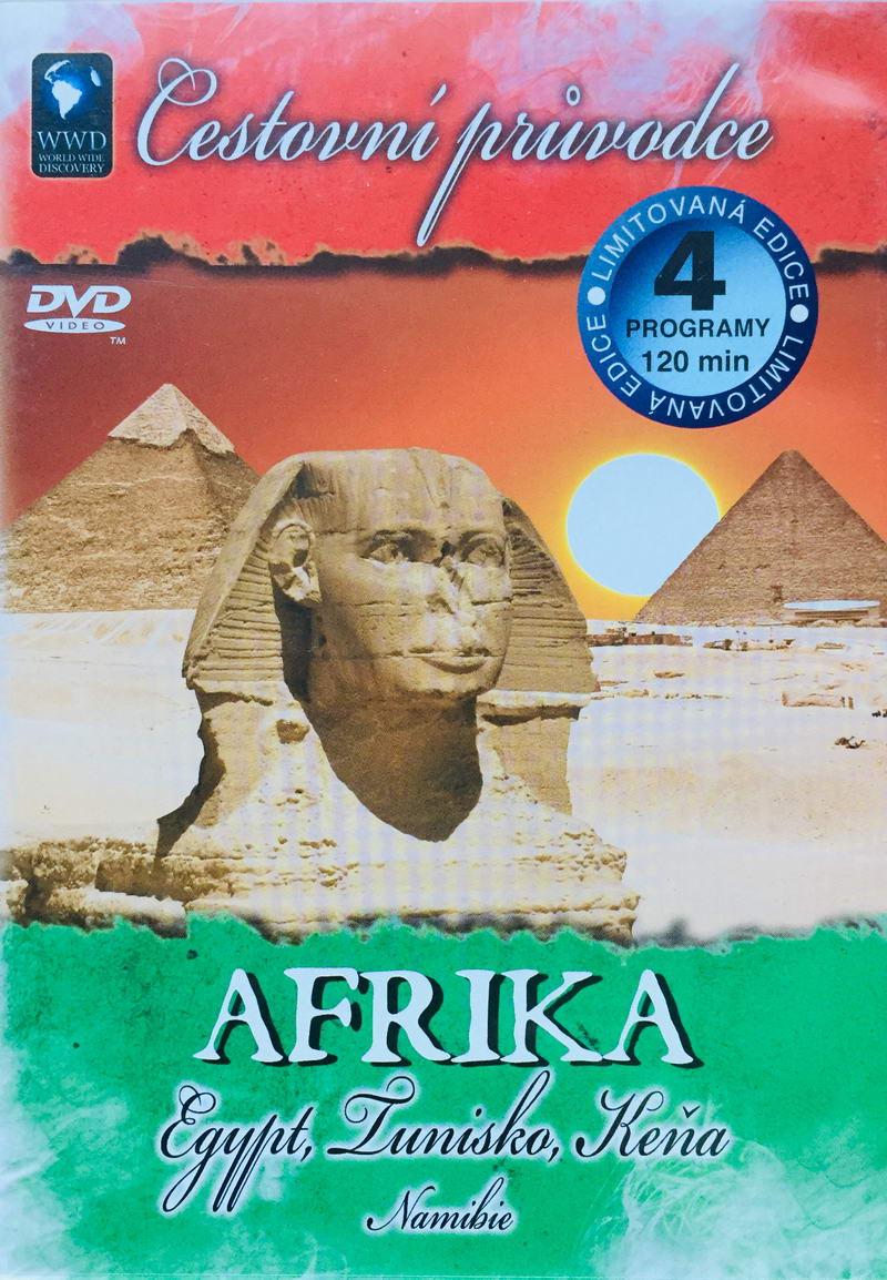 Cestovní průvodce - Afrika - DVD /plast/
