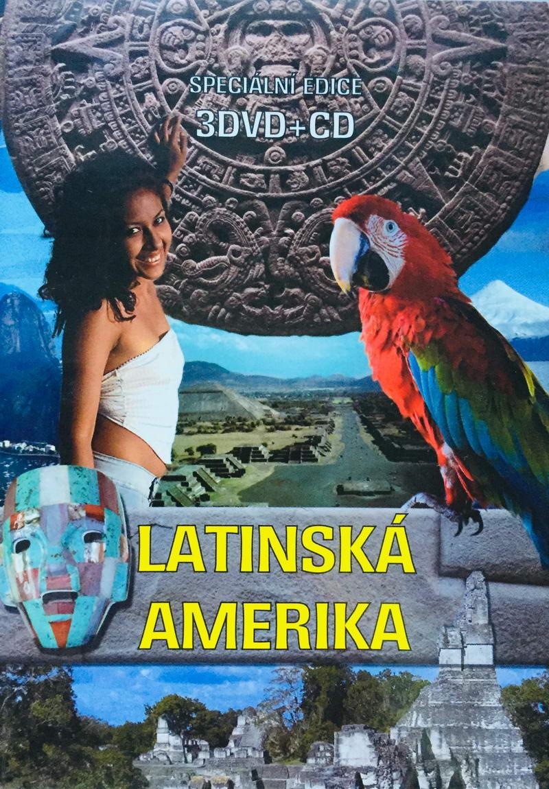 Latinská Amerika - Speciální edice - 3DVD + 1xCD /plast/
