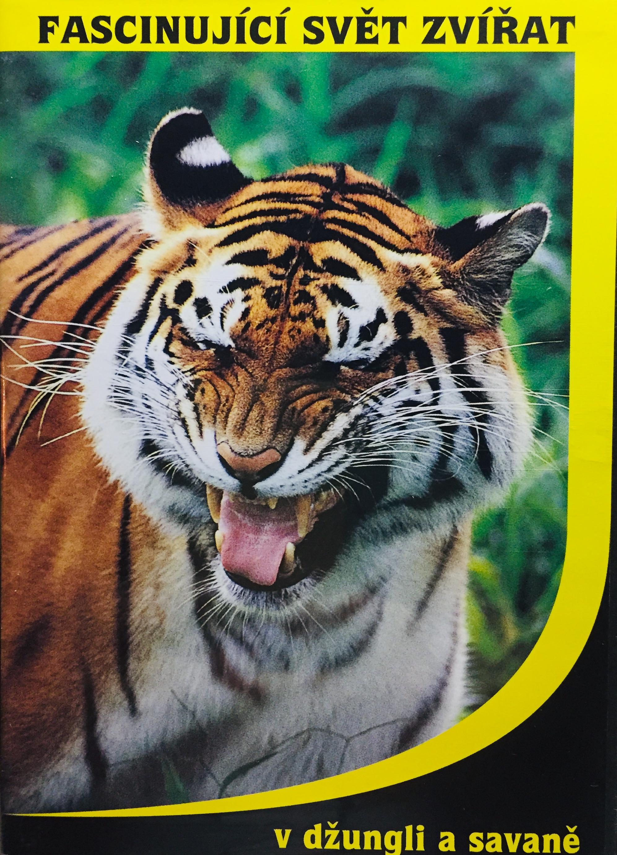Fascinující svět zvířat - v džungli a savaně - DVD /plast/
