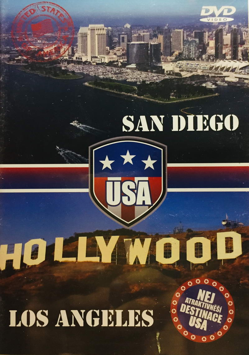 San Diego / Los Angeles - DVD /plast/