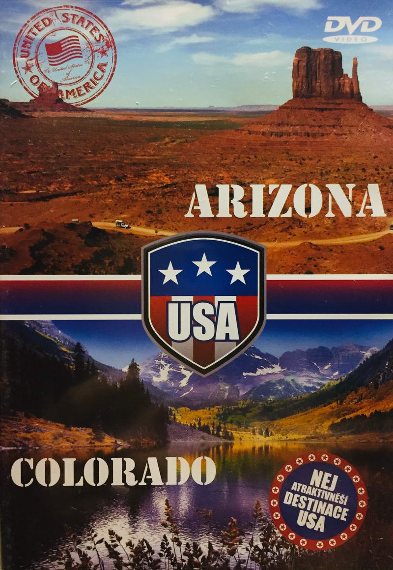 Arizona / Colorado - DVD /plast/