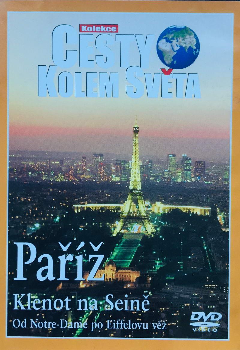 Cesty kolem světa - Paříž - DVD /plast/