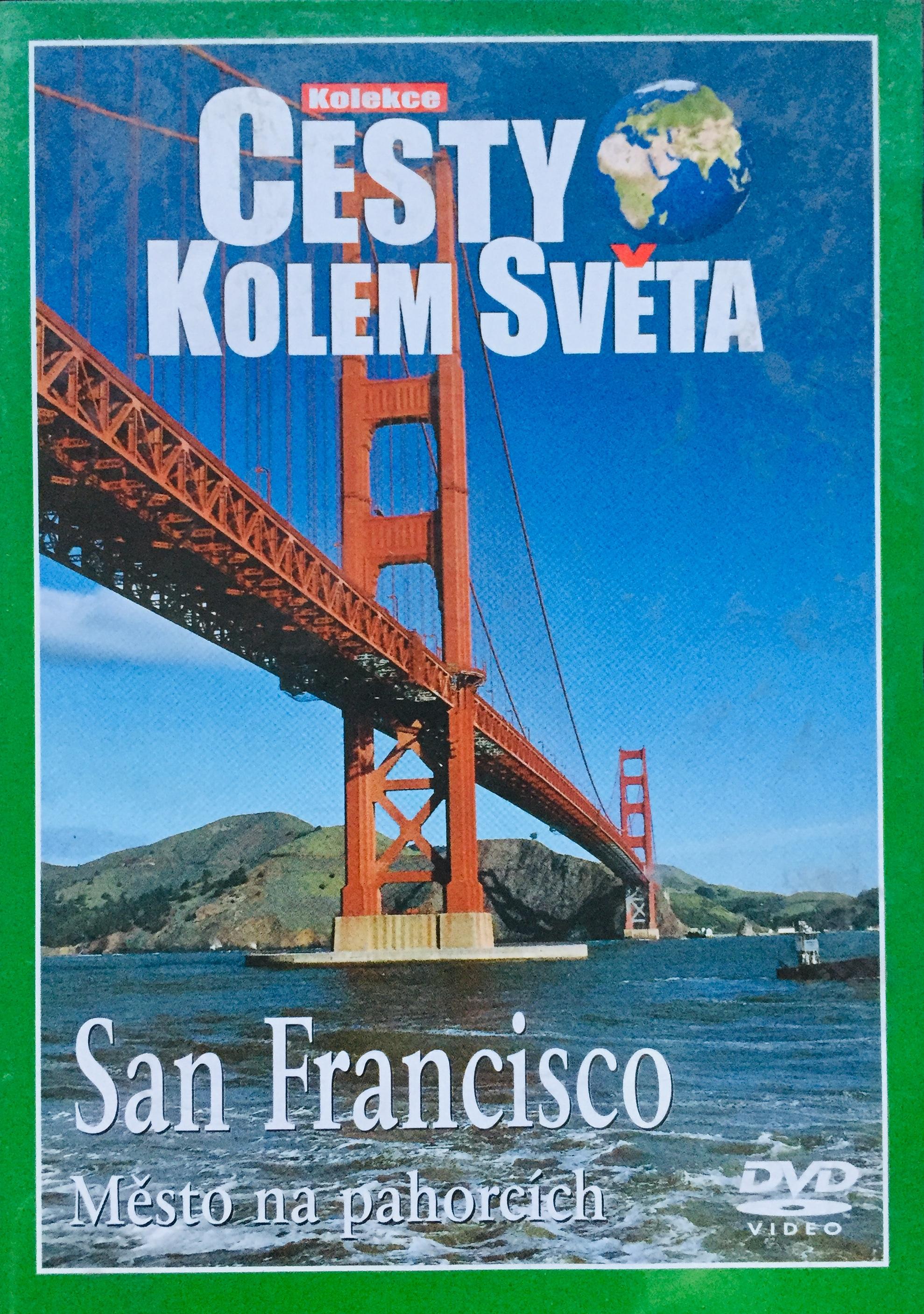 Cesty kolem světa - San Francisko - DVD /plast/
