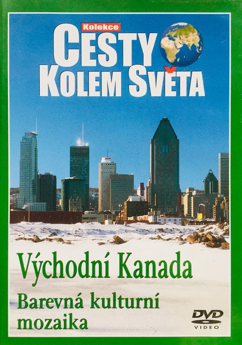 Cesty kolem světa - Východní Kanada - DVD /plast/
