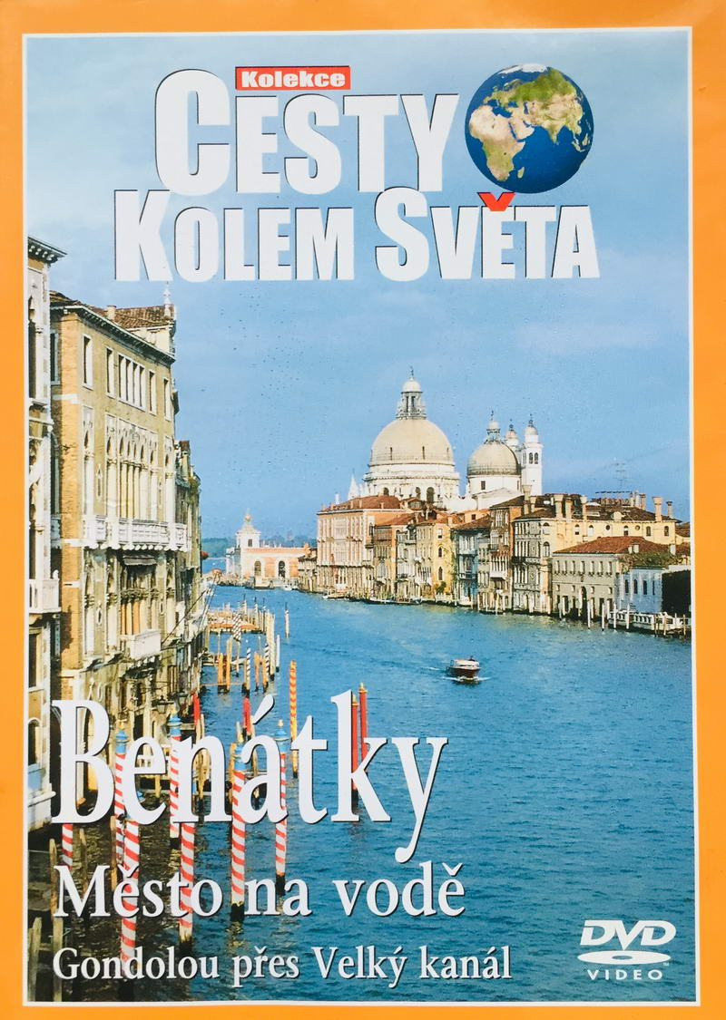 Cesty kolem světa - Benátky - DVD /plast/