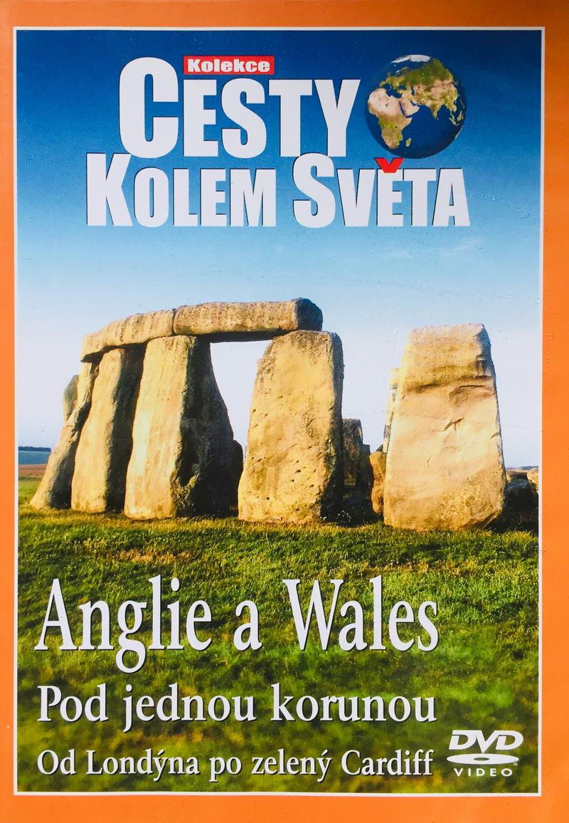 Cesty kolem světa - Anglie a Wales - DVD /plast/