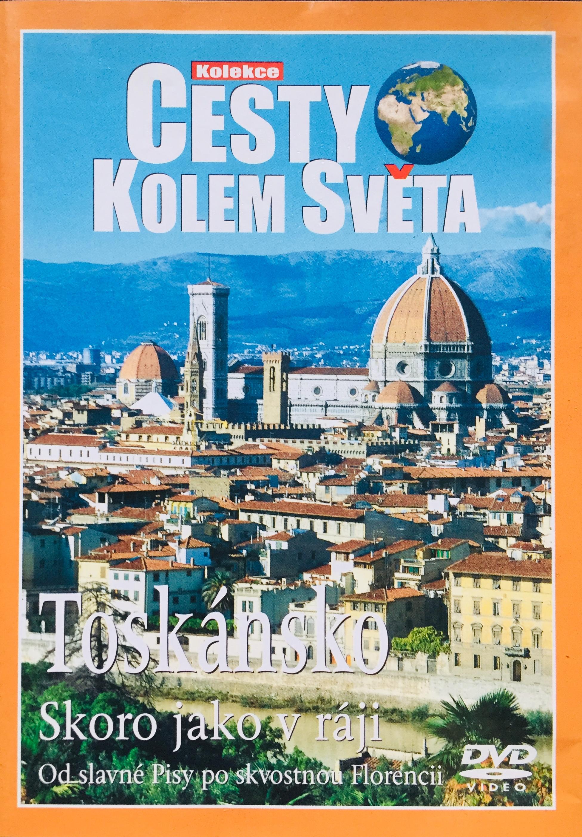 Cesty kolem světa - Toskánsko - DVD /plast/