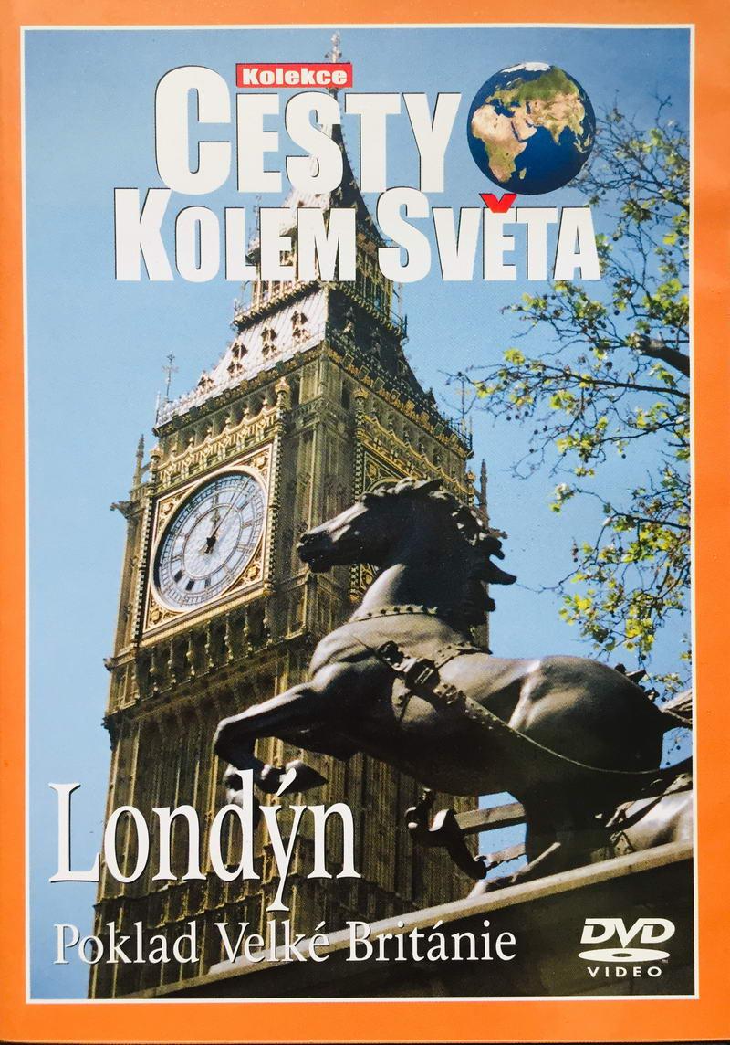 Cesty kolem světa - Londýn - DVD /plast/