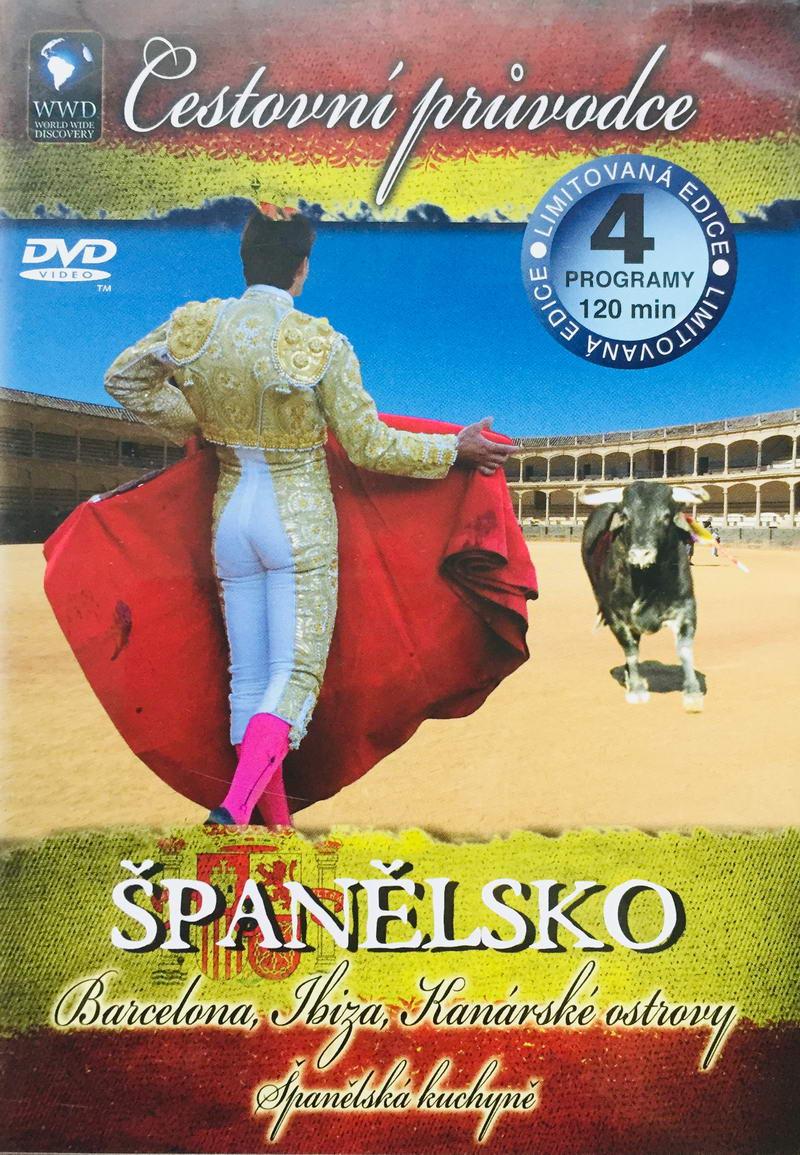 Cestovní průvodce - Španělsko - DVD /plast/