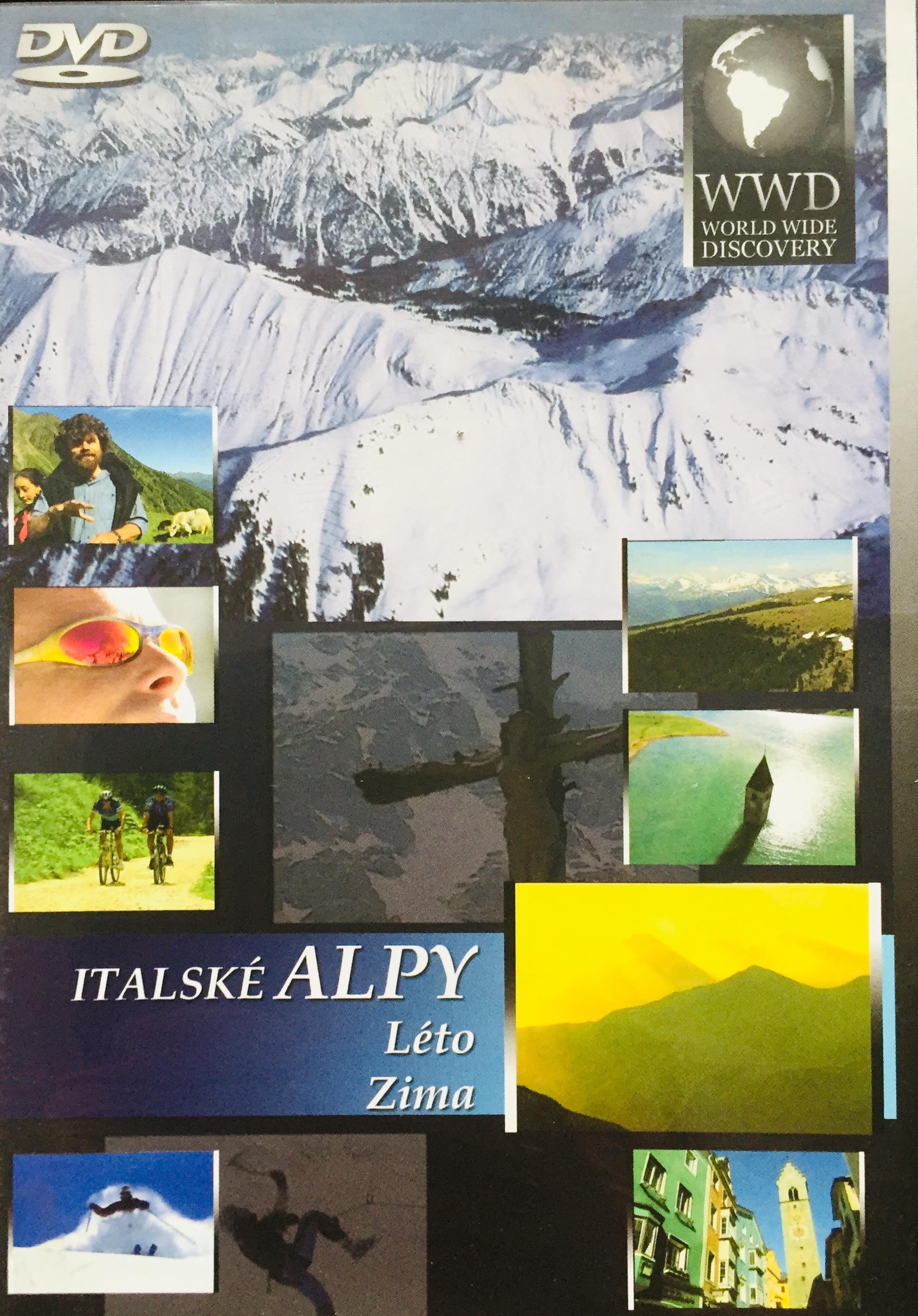 Italské Alpy - Léto, Zima - WWD - DVD /plast/