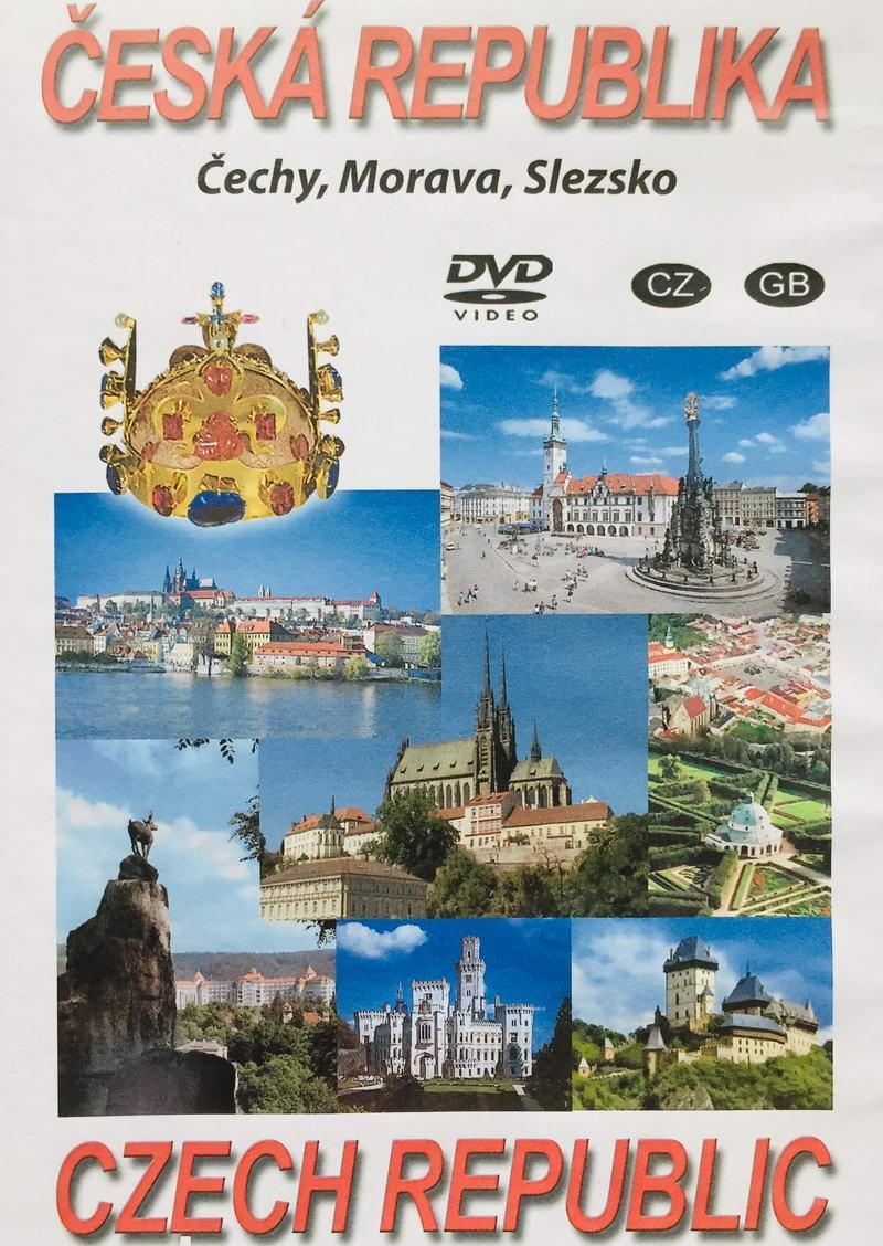 Česká Republika - DVD /plast/