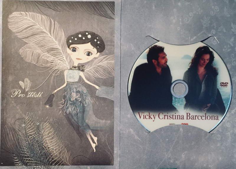 Vicky Cristina Barcelona - DVD /dárkový obal/