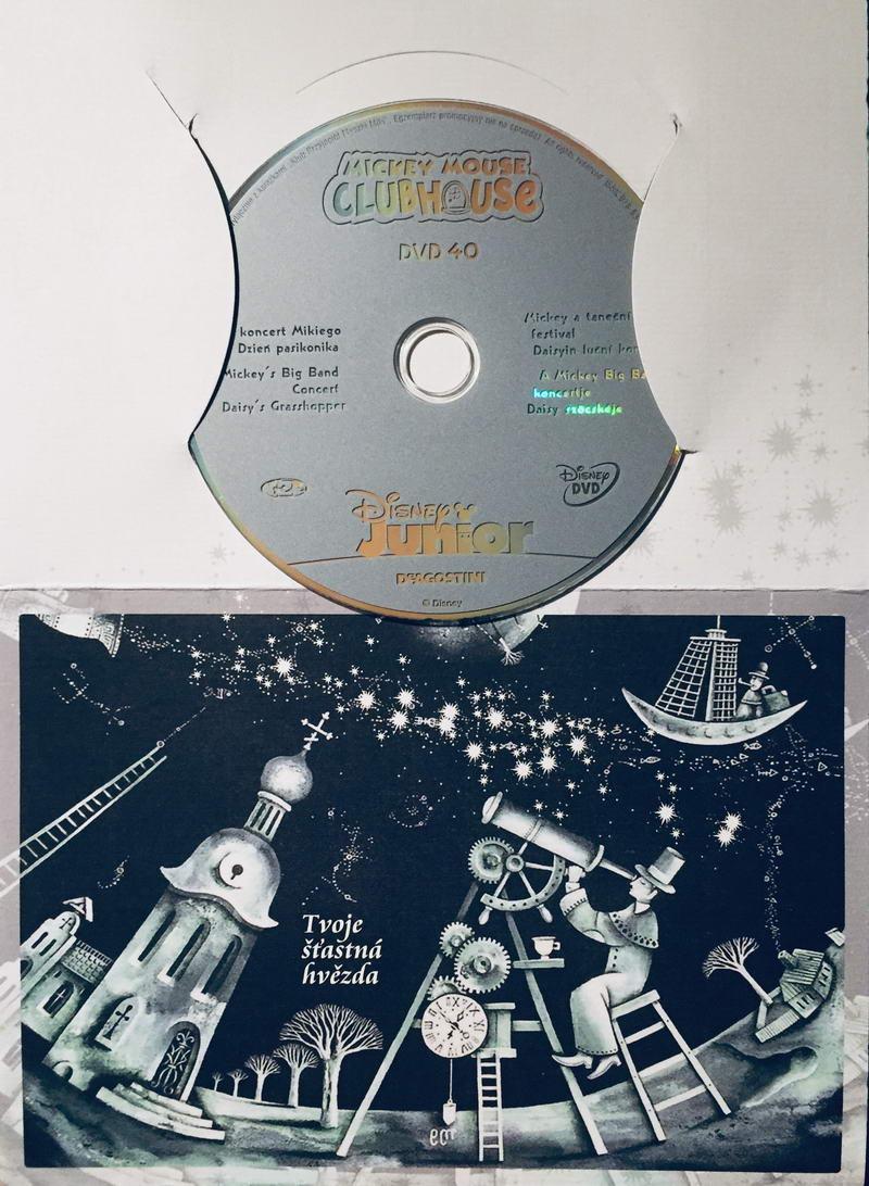 Mickeyho klubík - DVD 40 /dárkový obal/
