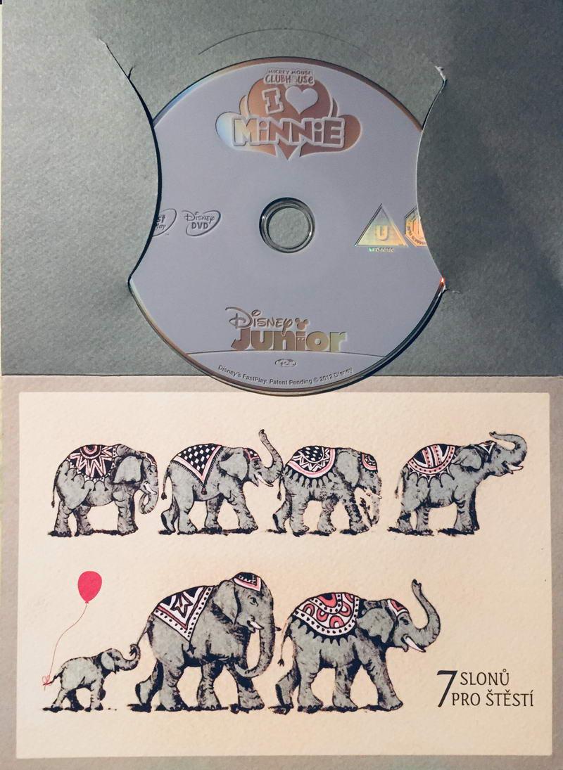Mickeyho klubík - Máme rádi Minie - DVD /dárkový obal/