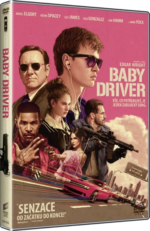 Baby driver - DVD /plast/