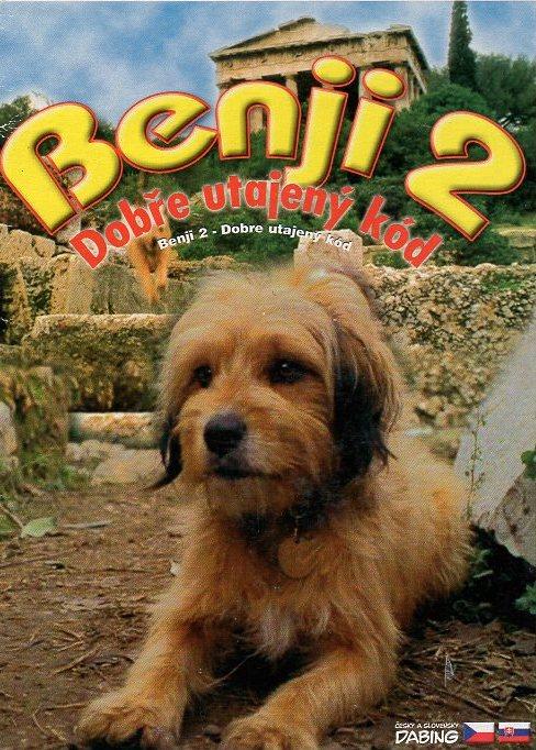 Benji 2 - Dobře utajený kód - DVD /digipack/
