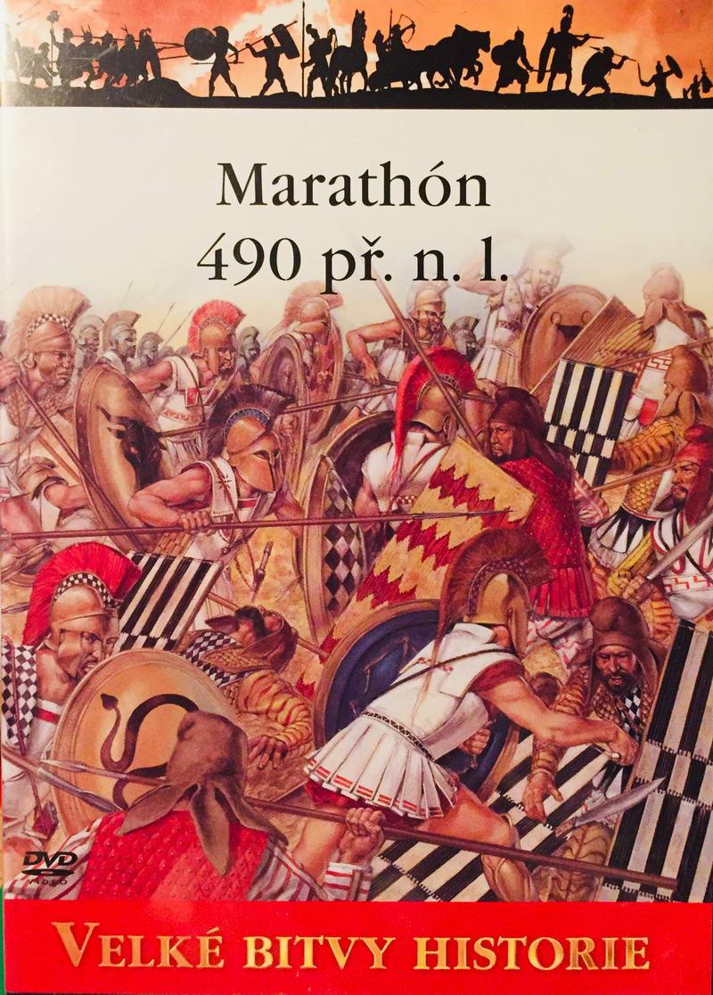 Velké bitvy historie - Marathón 490 př.n.l. - DVD /slim/