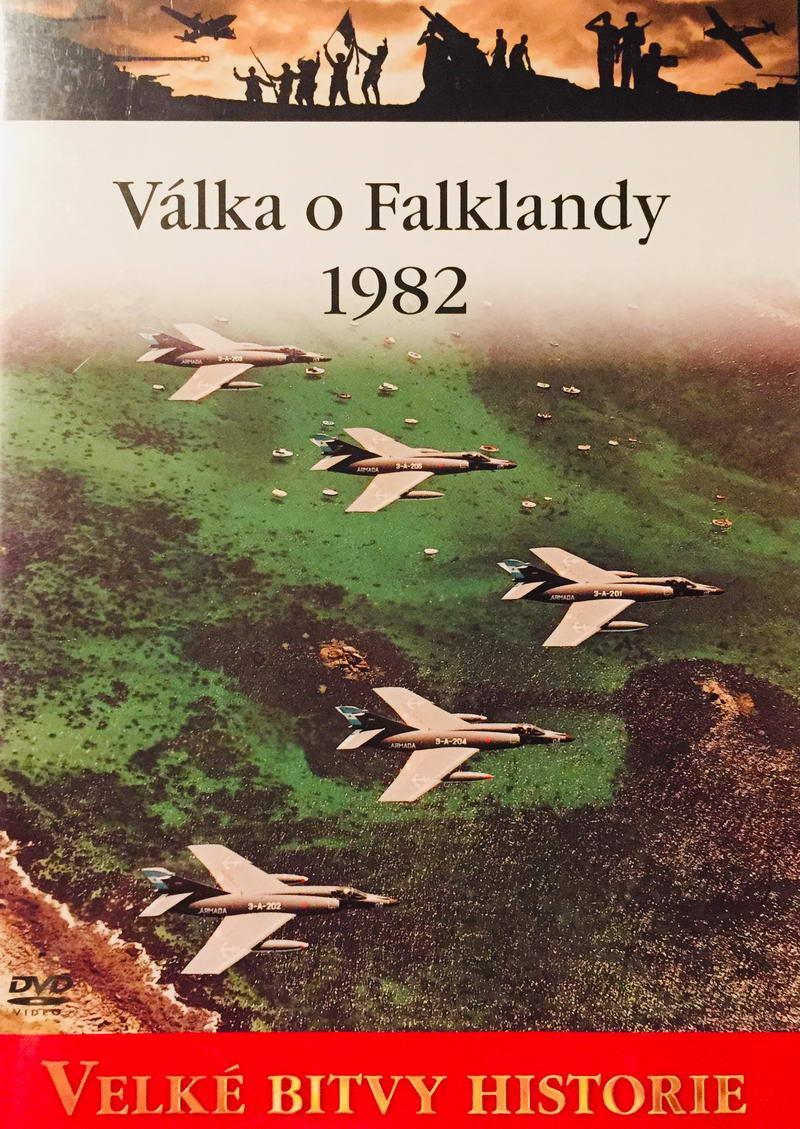 Velké bitvy historie - Válka o Falklandy 1982 - DVD /slim/