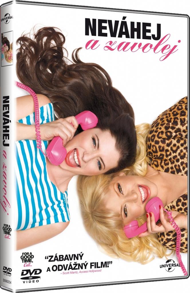 Neváhej a zavolej...DVD plast