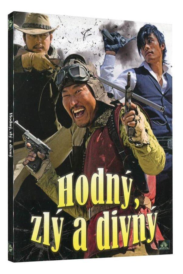 Hodný, zlý a divný - DVD /digipack/