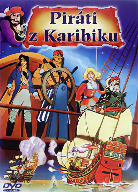 Piráti z Karibiku - animovaný - DVD /slim/