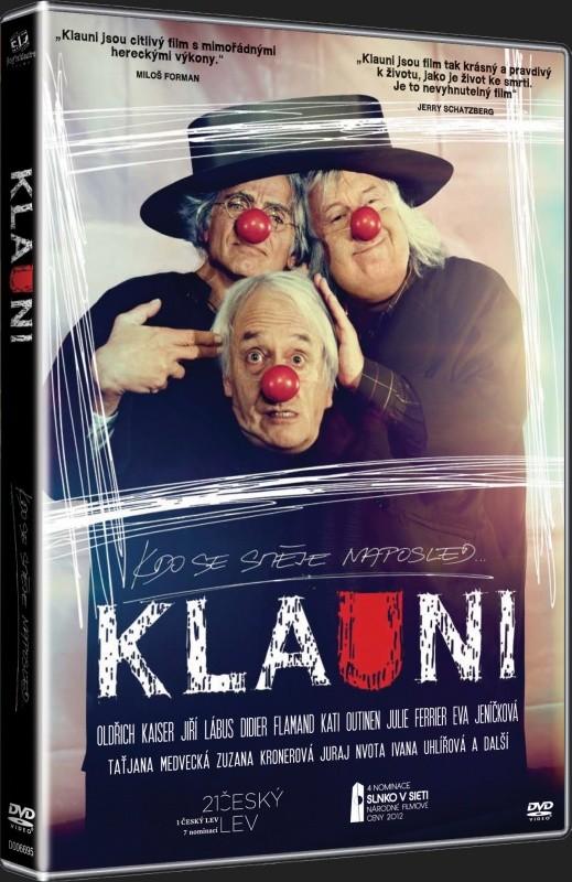 Klauni-DVD plast