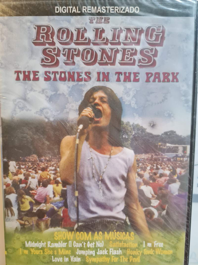 Rolling stones-The stones in the park-DVD plast