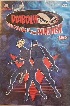 Diabolik 1. Track of the panther/DVD plast/