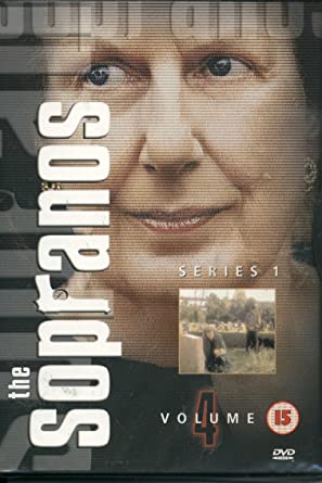 The Sopranos / Rodina Sopránů - Volume 4 - DVD /plast/