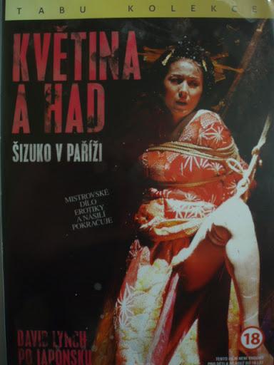 Květina a had - Šizuko v Paříži - Tabu kolekce - DVD /slim/