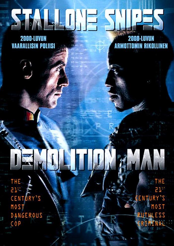 Demolition Man - DVD /plast/
