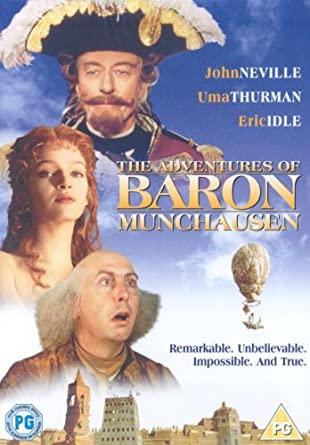 The Adventures of Baron Munchausen / Dobrodružství Barona Prášila - DVD /plast/
