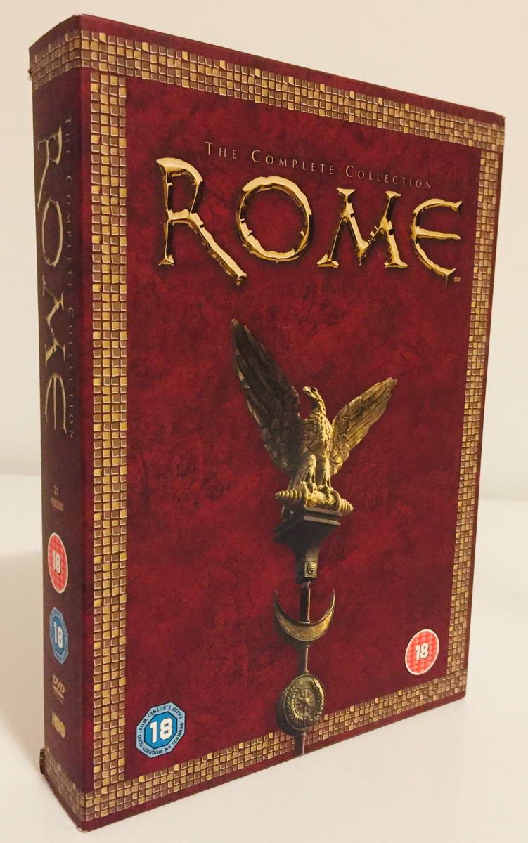 Rome / Řím - 1. a 2. série - 11 x DVD v dárkovém obalu /2 x plast v šubru/