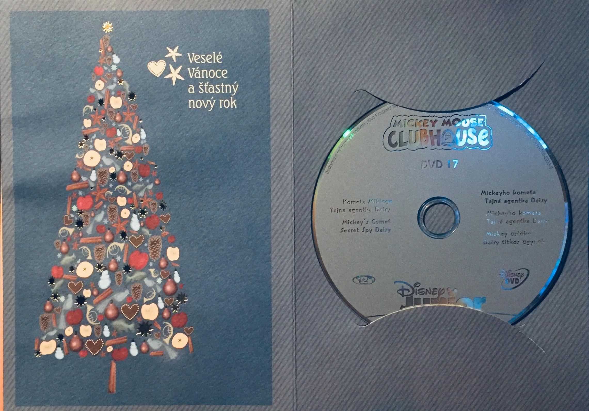 Mickeyho klubík 17 - DVD /dárkový obal/
