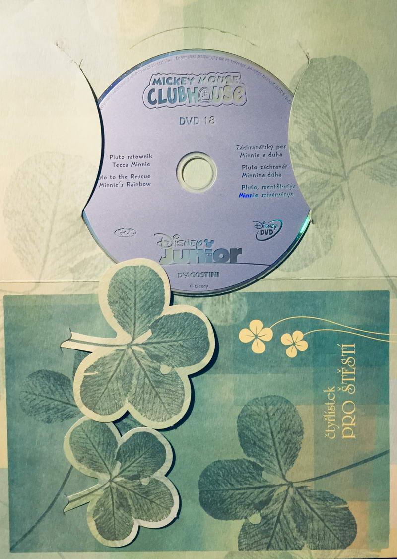 Mickeyho klubík 18 - DVD /dárkový obal/