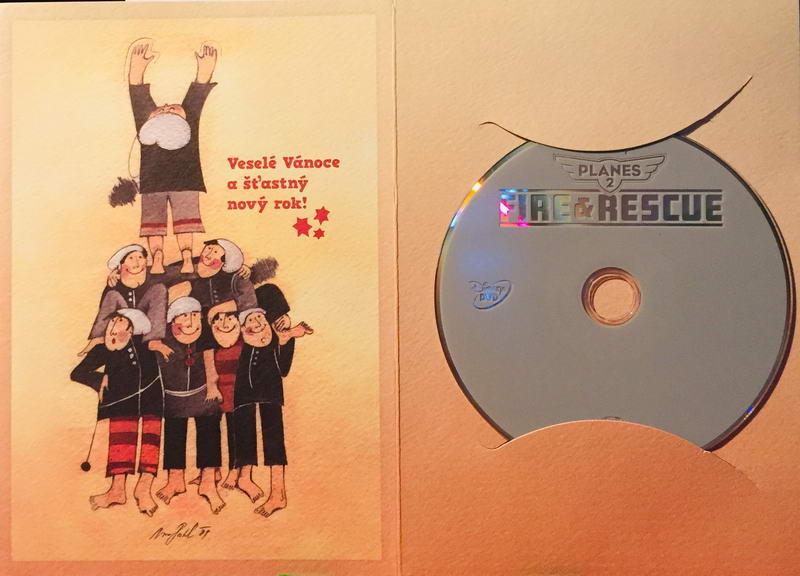 Letadla 2 - Hasiči a záchranáři - DVD /dárkový obal/